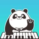 熊猫钢琴陪练...