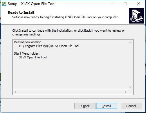 XLSX Open File Tool