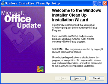 Microsoft Windows Installer (x64)