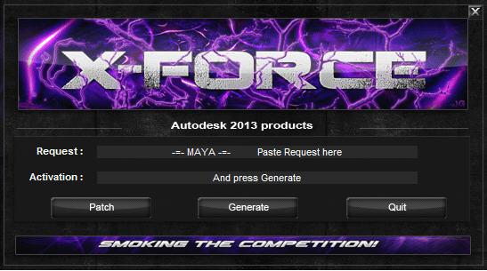 autodesk maya 2013注册机 v1.1.0