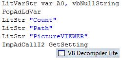 VB Decompiler(VB反编译器)