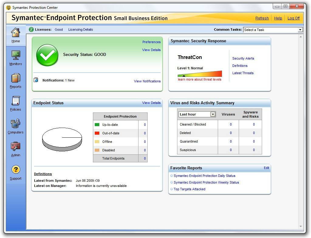 赛门铁克杀毒软件(Symantec Endpoint Protection)