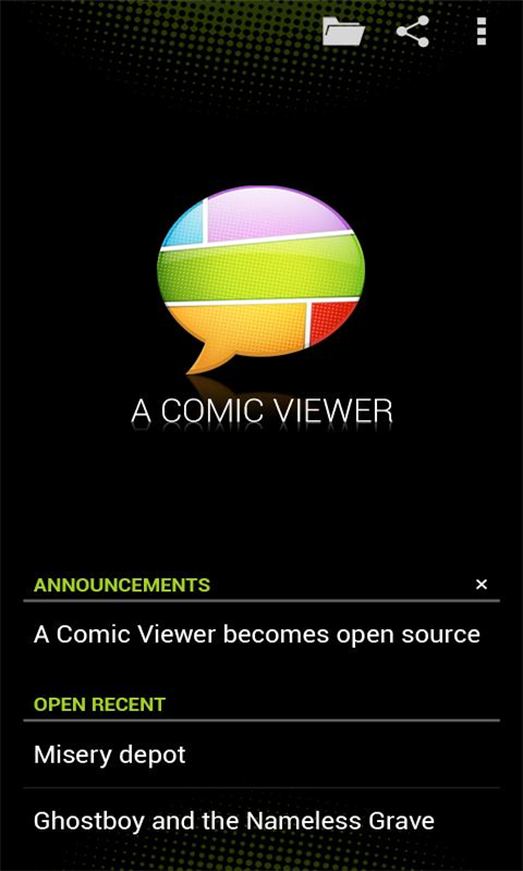 漫画阅读器Droid Comic Viewer