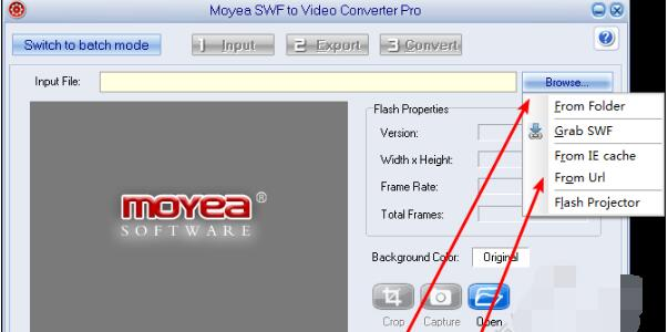 SWF转MP4、FLV、3GP转换器