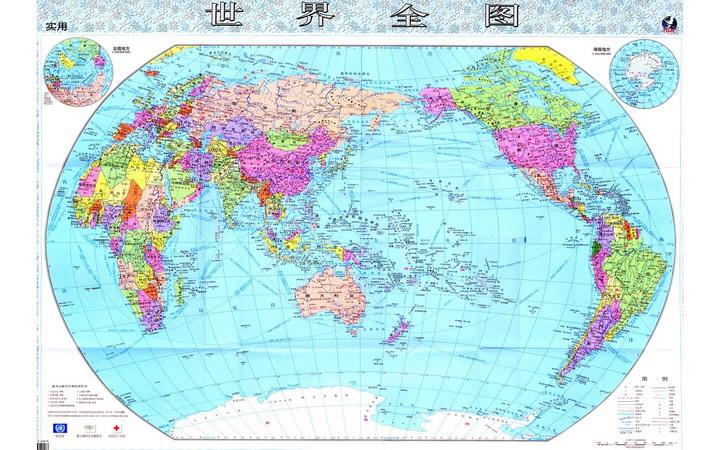 超高清晰世界地图