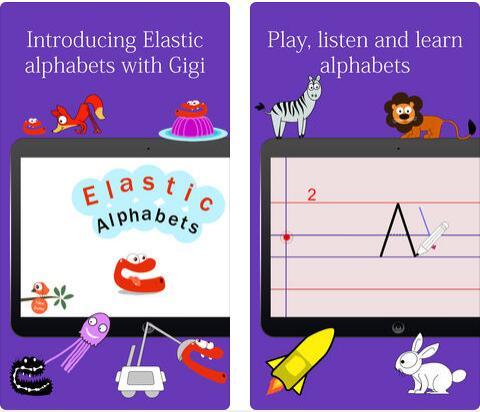 Elastic Alphabets®, 教育专家推荐的字母学习游戏