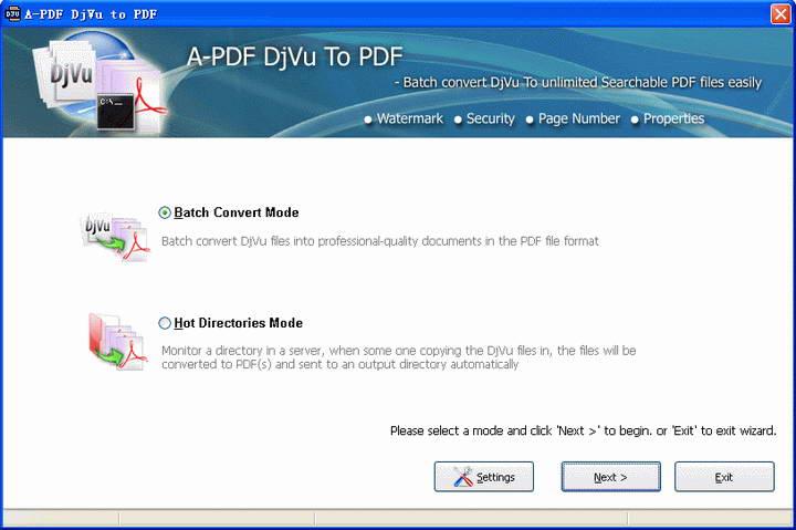 DjVu转PDF