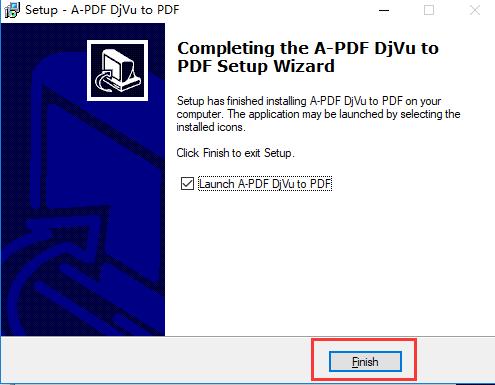 A-PDF DjVu to PDF安装步骤