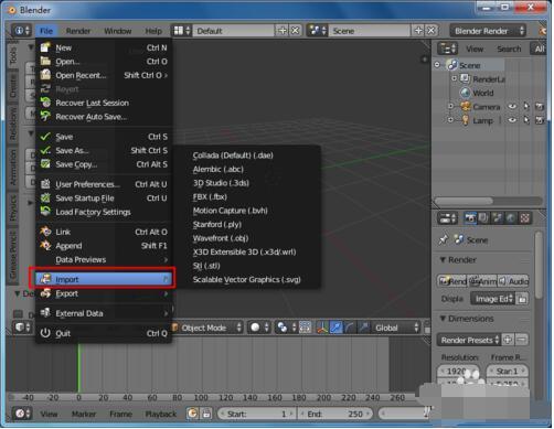 Blender(建模软件)
