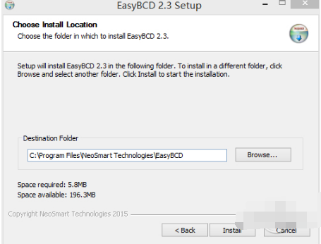 系统引导修复工具(EasyBCD)