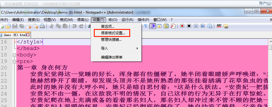 Notepad++(编辑器)