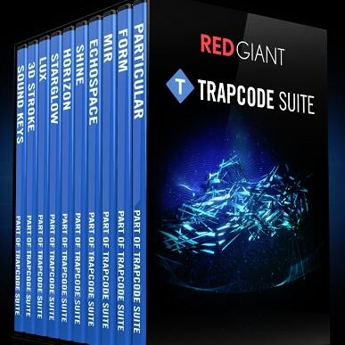 Red Giant Trapcode Suite 绿色版