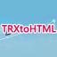 TRXtoHTML