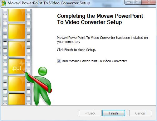 Movavi PowerPoint To Video Converter