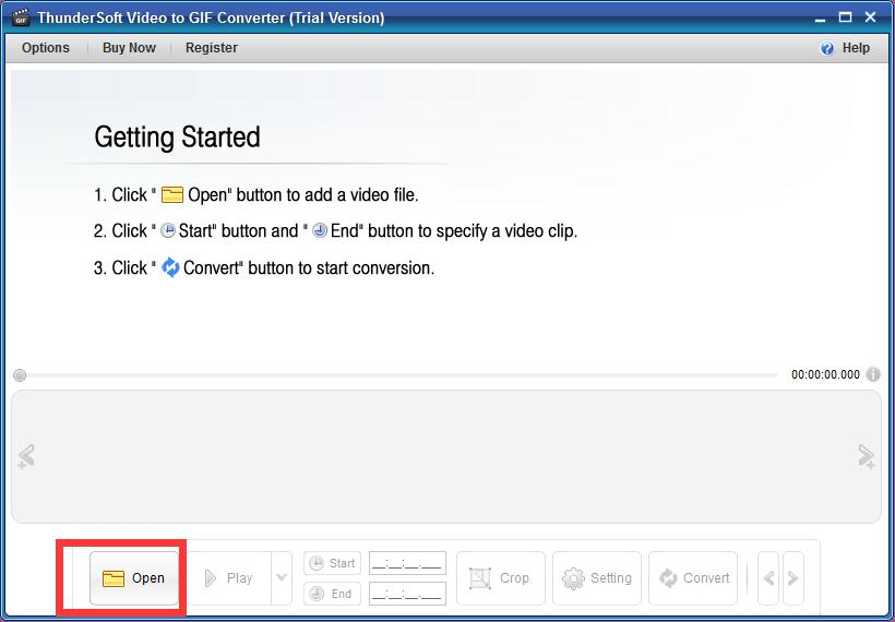 ThunderSoft Video to GIF Converter