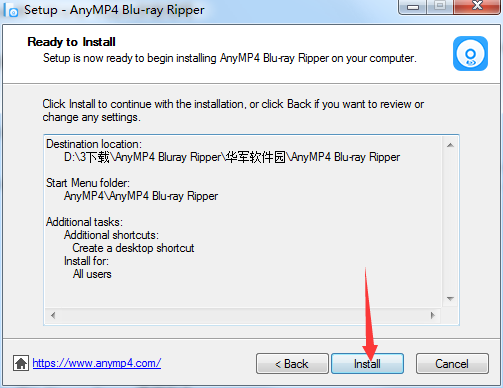AnyMP4 Bluray Ripper