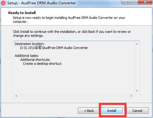AudFree DRM Audio Converter