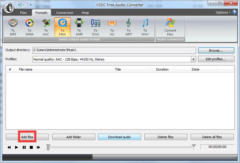 VSDC Free Audio Converter