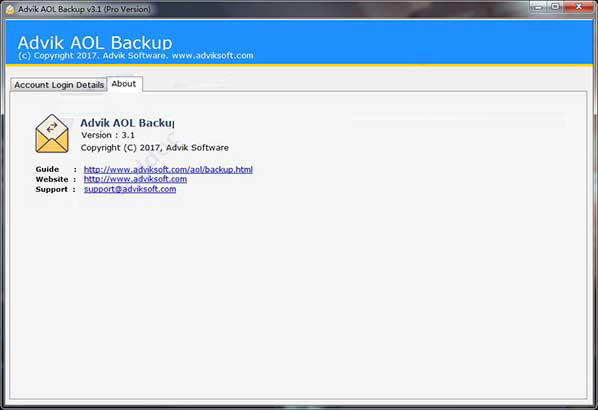 Advik AOL Backup