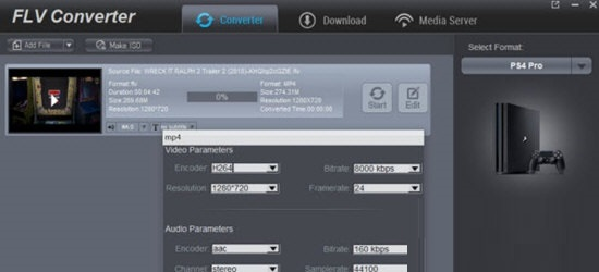 Dimo FLV Video Converter