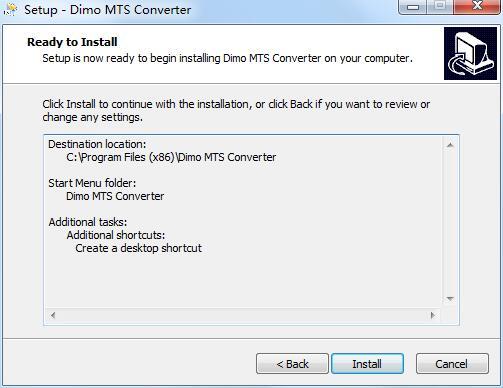 Dimo MTS Converter