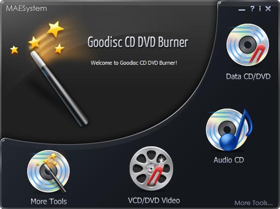 Goodisc CD DVD Burner