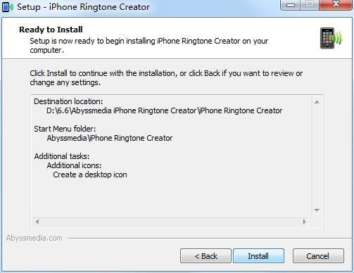 Abyssmedia iPhone Ringtone Creator