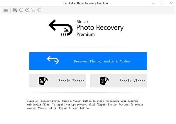 Stellar Photo Recovery