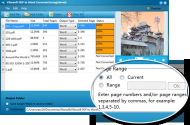 Vibosoft PDF to Word Converter