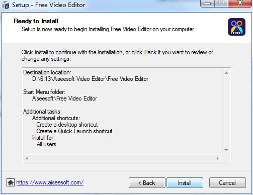 Aiseesoft Free Video Editor
