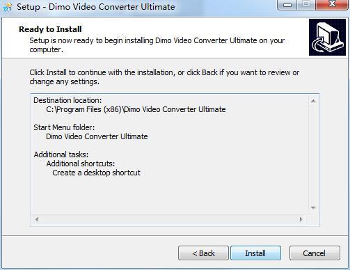 Dimo Video Converter Ultimate
