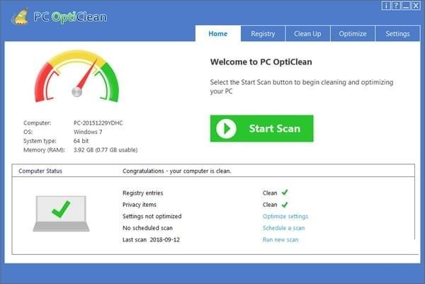 PC OptiClean