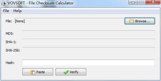 File Checksum Calculator
