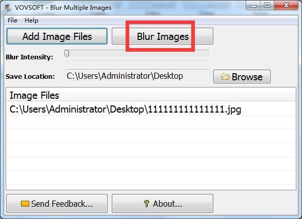 Blur Multiple Images