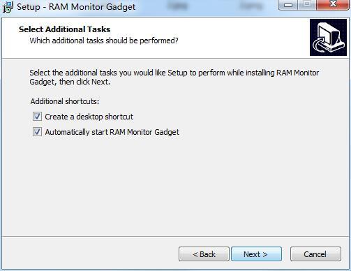 RAM Monitor Gadget