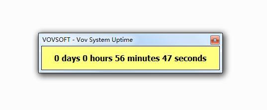 Vov System Uptime