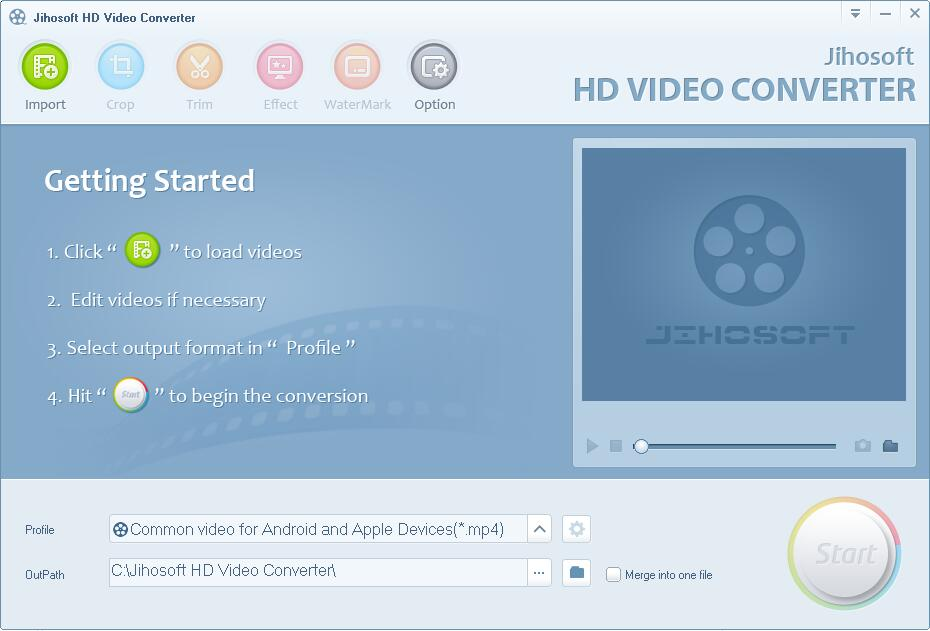Jihosoft HD Video Converter