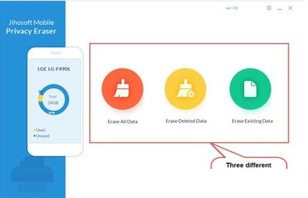 Jihosoft Mobile Privacy Eraser
