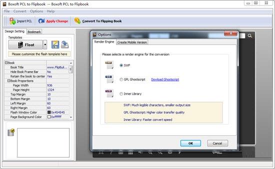 Boxoft PCL to Flipbook