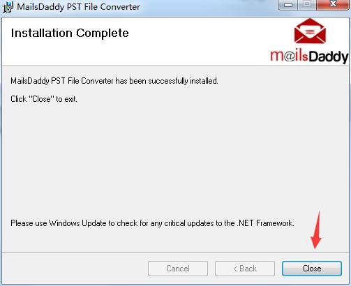 MailsDaddy PST File Converter