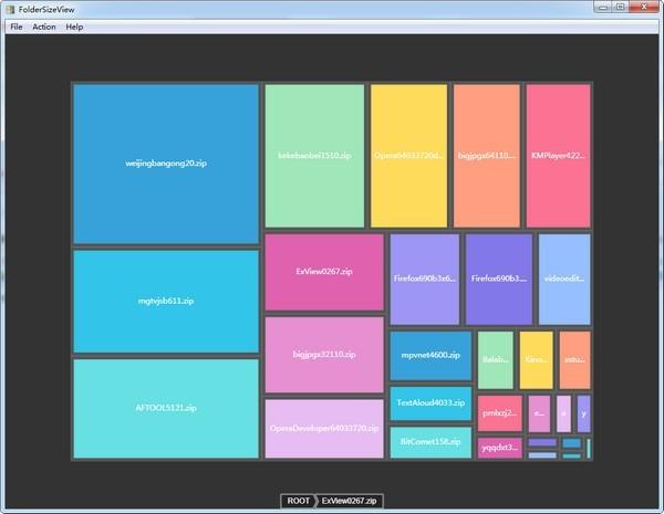 Folder Size View
