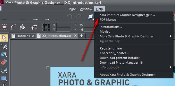 Xara Photo&Graphic Designer