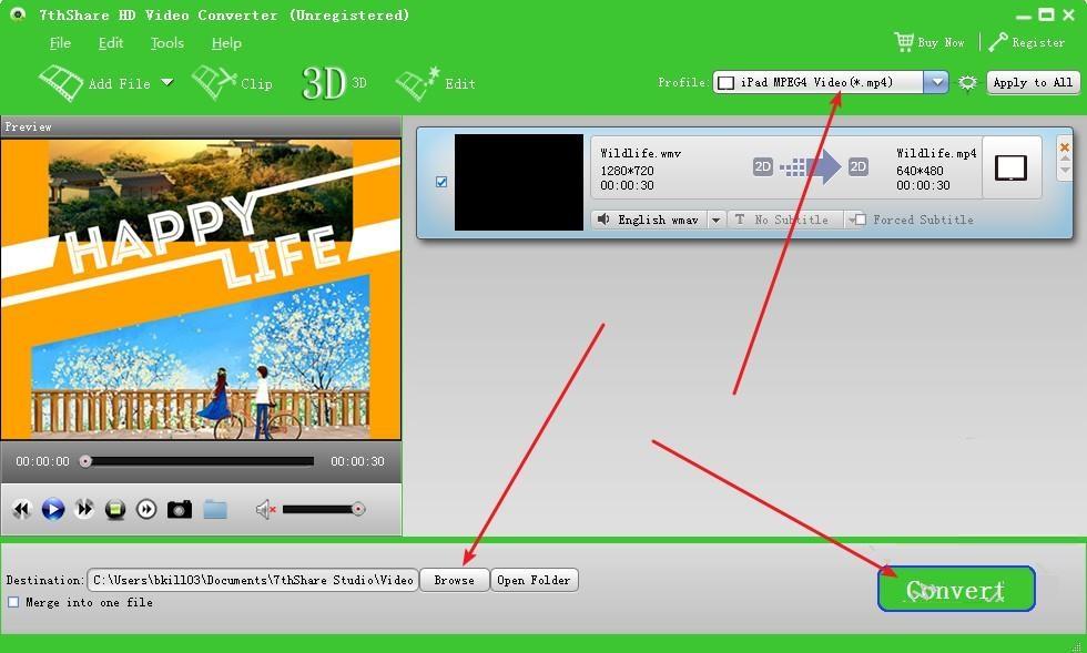 7thShare HD Video Converter