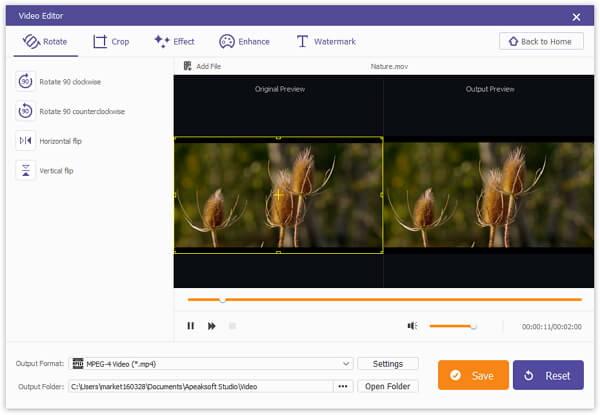 Apeaksoft Video Editor