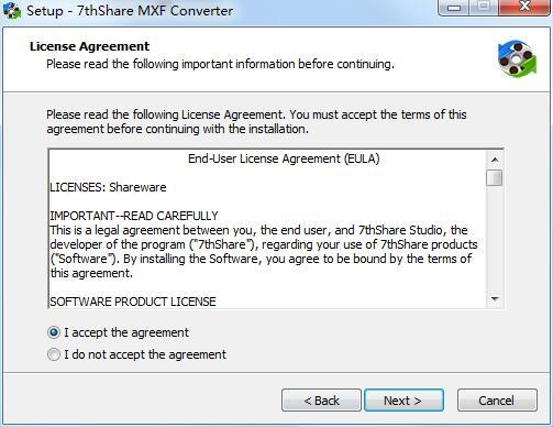 7thShare MXF Converter