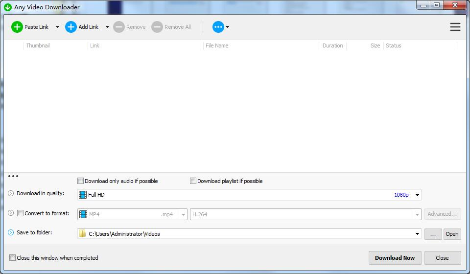 Any Video Downloader