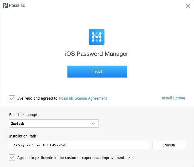 PassFab iOS Password Manager