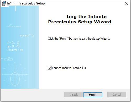 Infinite Precalculus