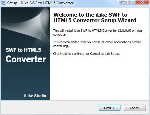 iLike SWF to HTML5 Converter