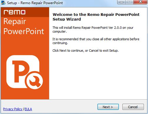Remo Repair PowerPoint